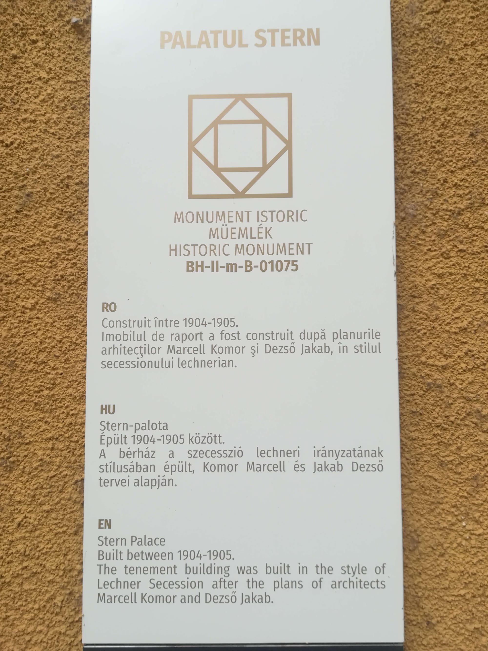 monument oradea