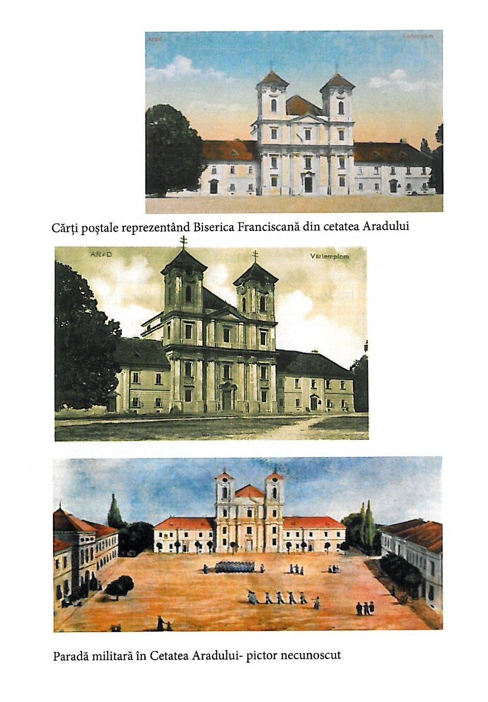 Carti postale cu Biserica franciscana