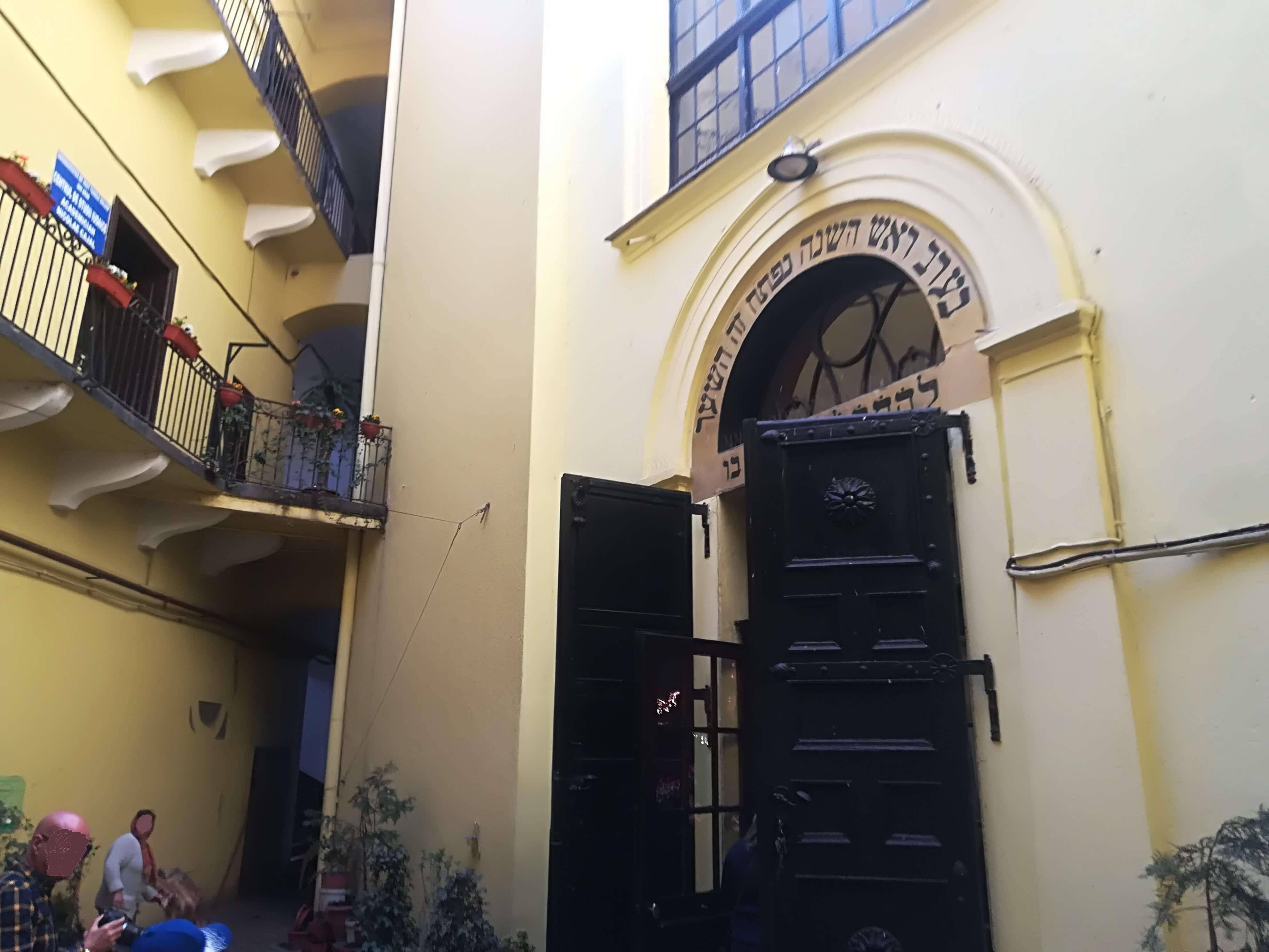 intrare sinagoga neologa arad