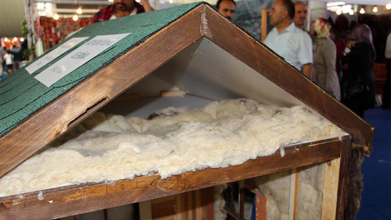 koyun yünü ısı izolasyonu